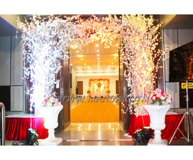 Explore Megarugas Ceremony Banquet Hall 2 (A/C) in Andheri East, Mumbai - Hall entrance