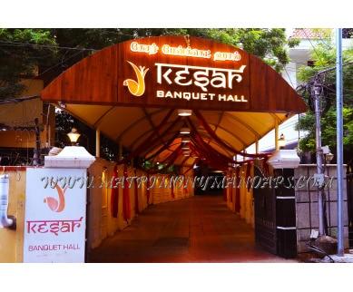 Explore Kesar Banquet Hall (A/C) in Royapettah, Chennai - Mahal Facade