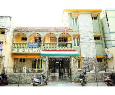 Explore PSD Marriage Hall in Saidapet, Chennai - Building Facade