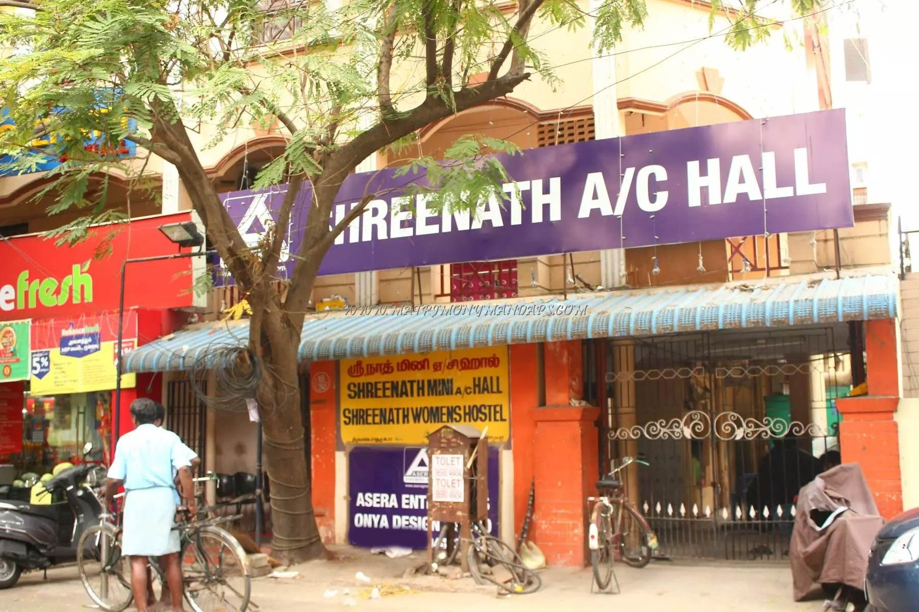 Find the availability of the Sreenath Mini  Hall (A/C) in West Mambalam, Chennai and avail special offers
