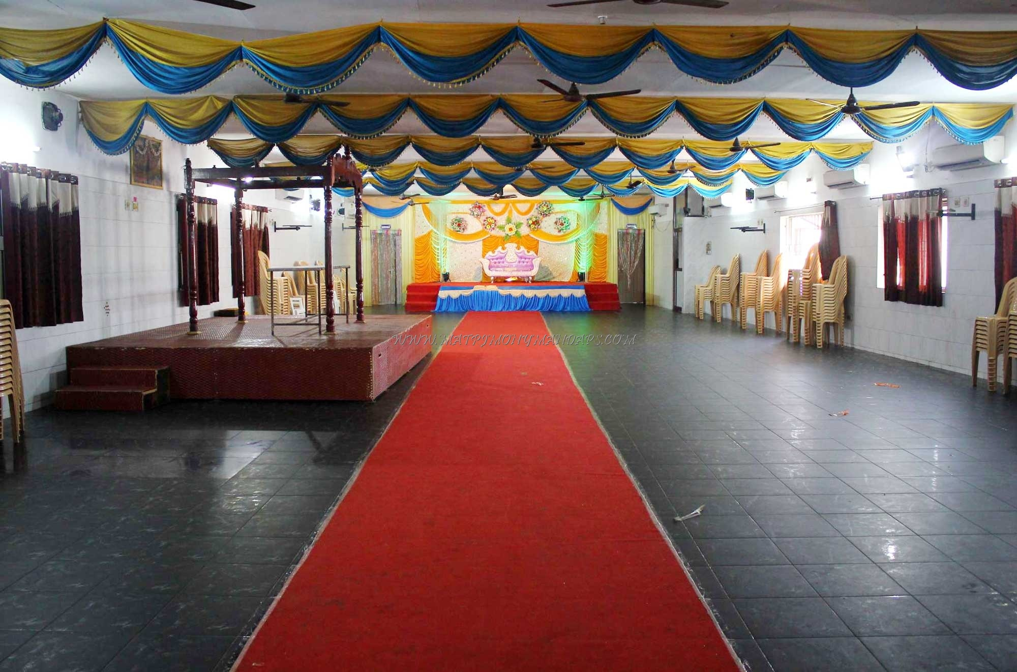 Find the availability of the Kamalammal Thirumana Mandapam (A/C) in Arumbakkam, Chennai and avail special offers