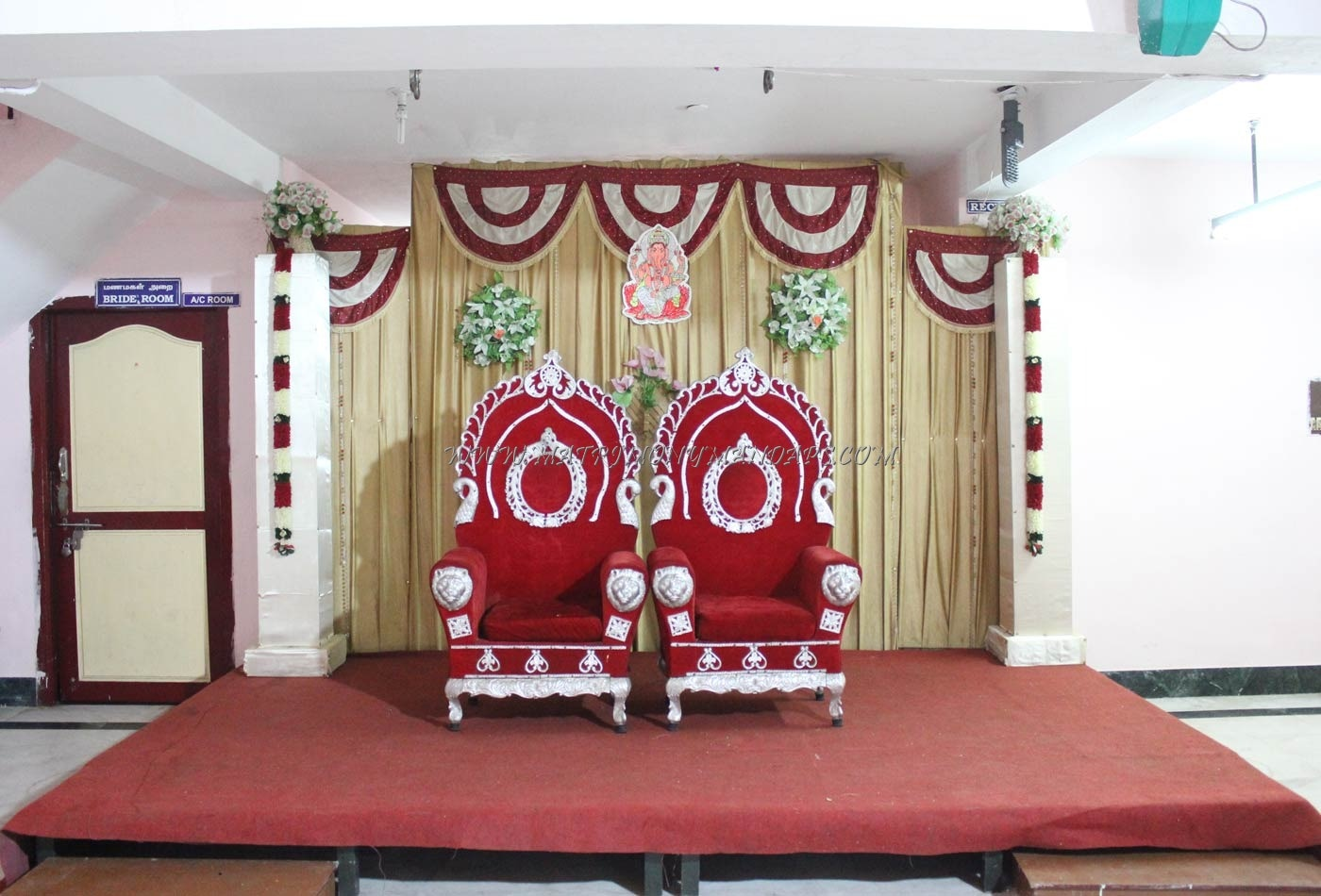 Find the availability of the SK Thirumana Mahal in Perambur, Chennai and avail special offers