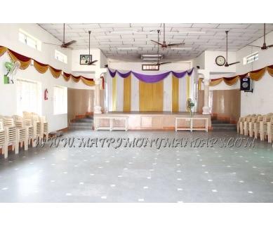 Explore Rajaveni Thirumana Mandapam in Jyothi Nagar, Chennai - Hall Entrance