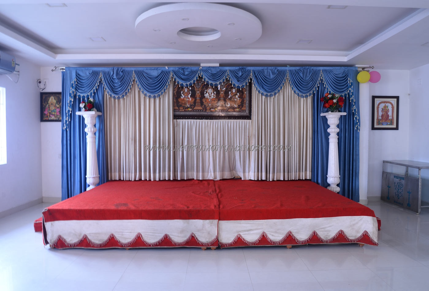 Find the availability of the Subikshaa Function Hall  (A/C) in Valasaravakkam, Chennai and avail special offers