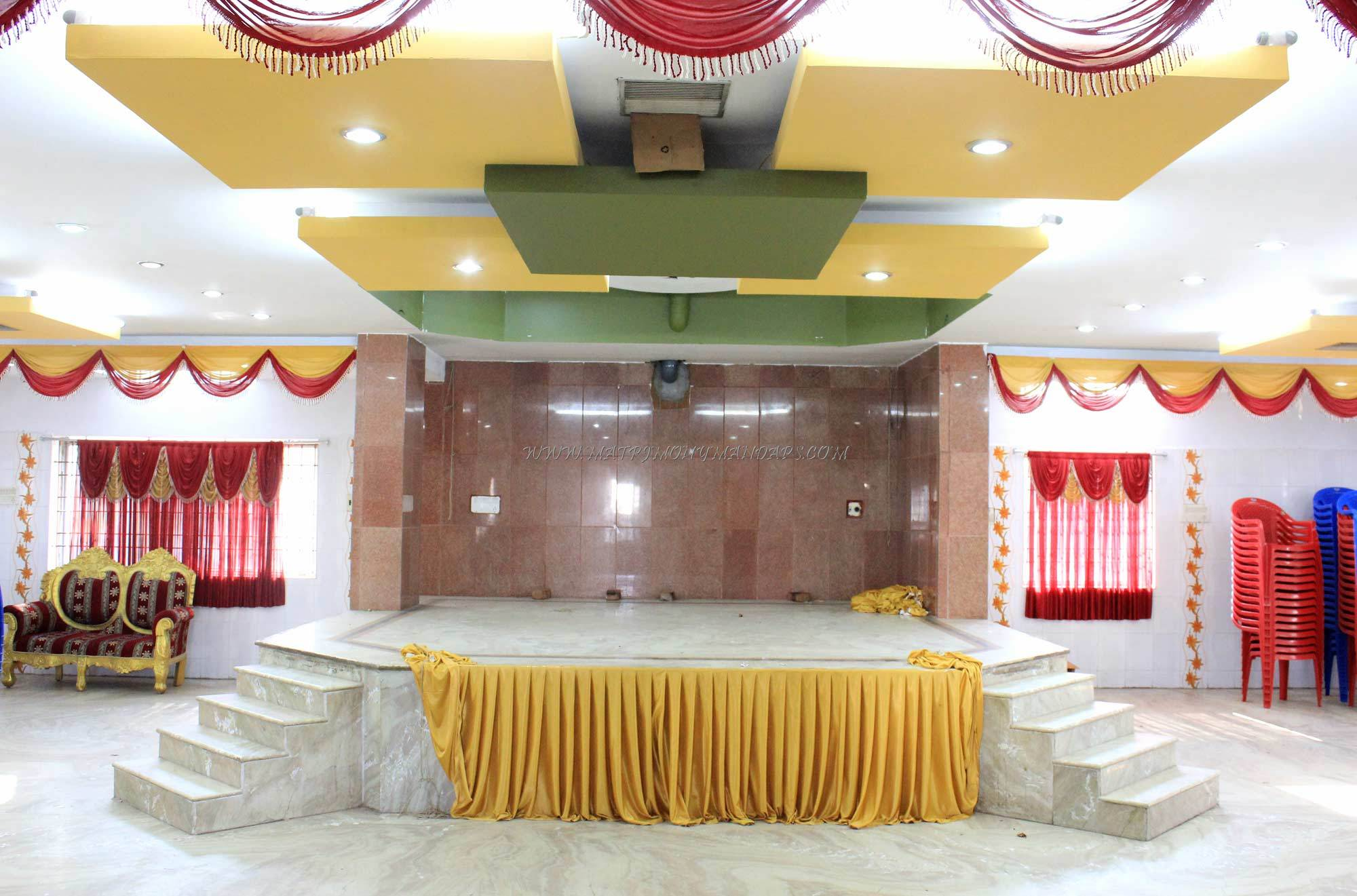 Find the availability of the Keerthi Mini Hall  (A/C) in Nanganallur, Chennai and avail special offers