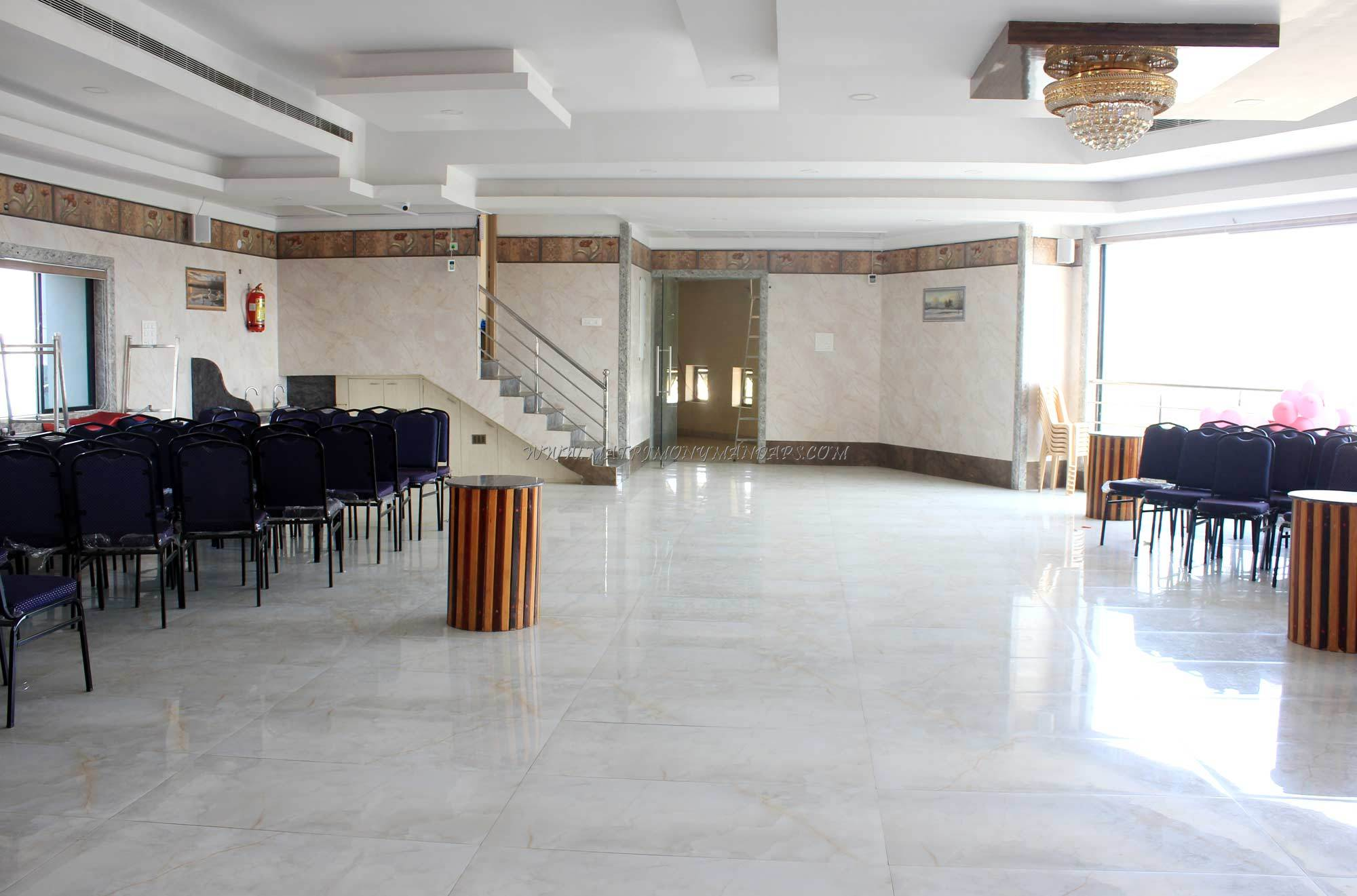 Find the availability of the GK Party Hall Diamond (A/C) in Kolathur, Chennai and avail special offers