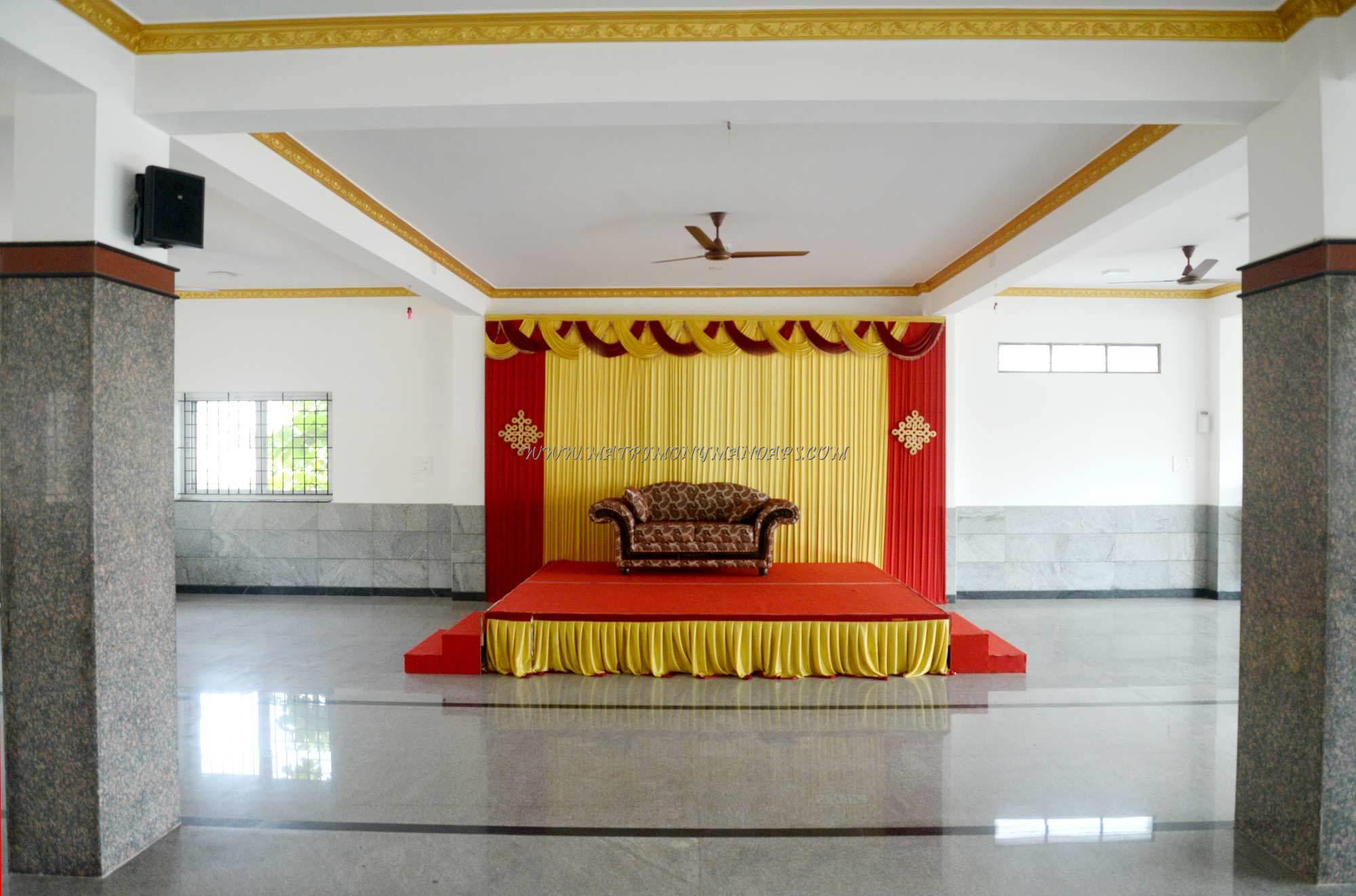Guru Krishna Mini Hall - Stage