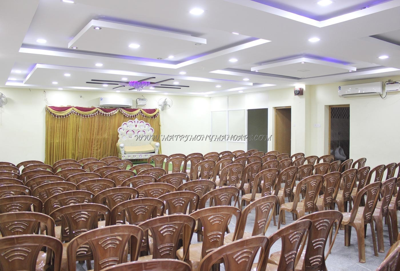 Find the availability of the Sangeetha Party Hall (A/C) in Kolathur, Chennai and avail special offers