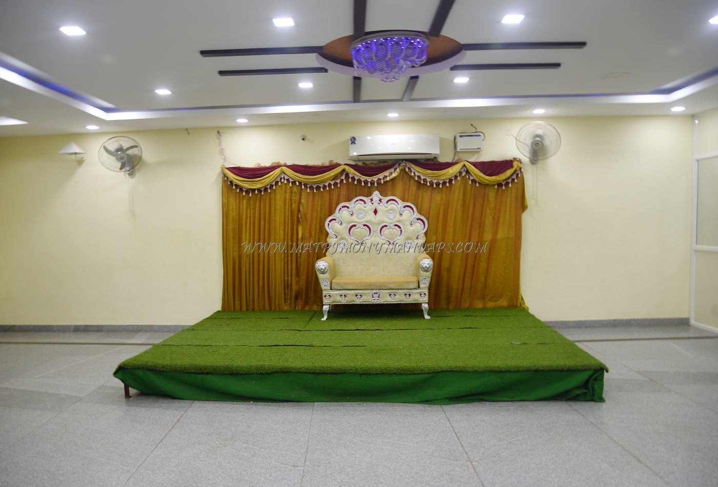 Find the availability of the Sangeetha Party Hall  2 (A/C) in Kolathur, Chennai and avail special offers
