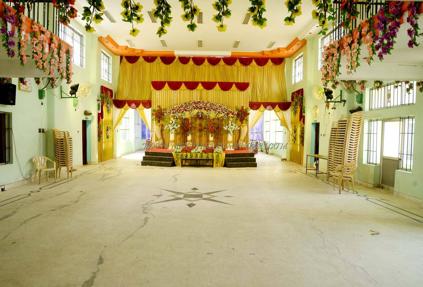 Find the availability of the LM Ramakrishna Kalyana Mahal in Palanganatham, Madurai and avail special offers