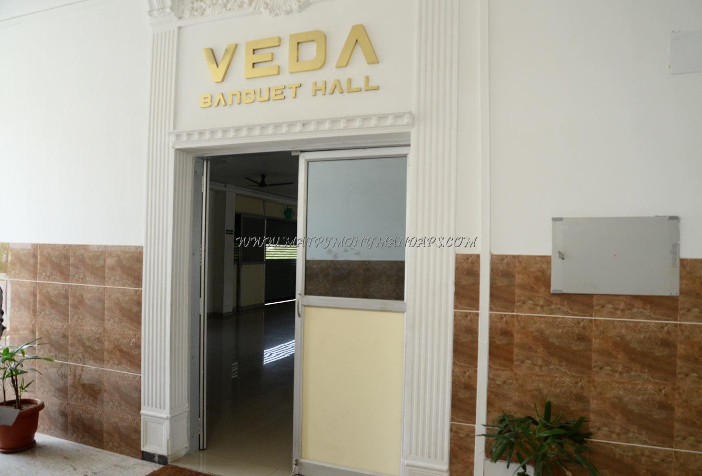 Veda Banquet Hall - Hall Entrance