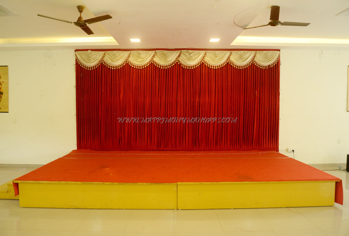 Veda Banquet Hall - Stage