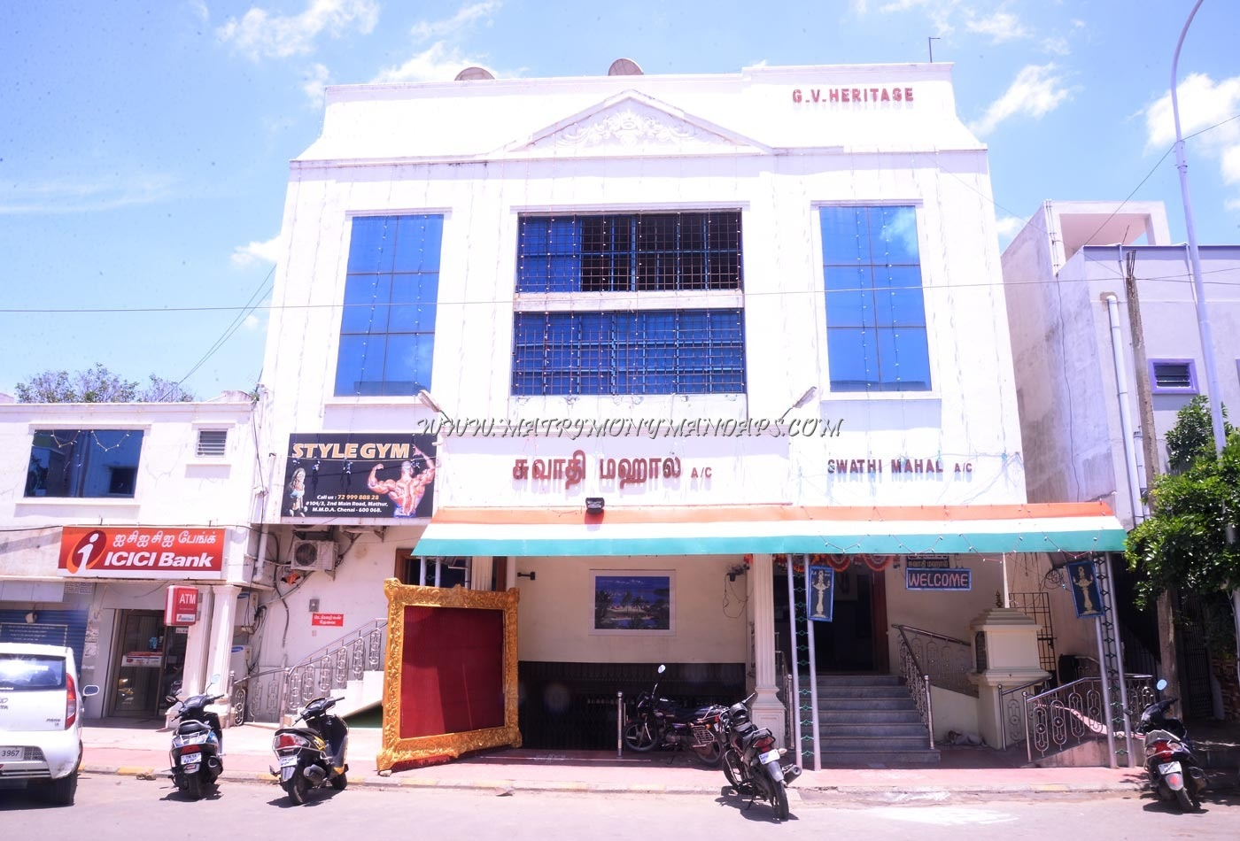 Find the availability of the Swathi Mahal  (A/C) in Mathur, Chennai and avail special offers