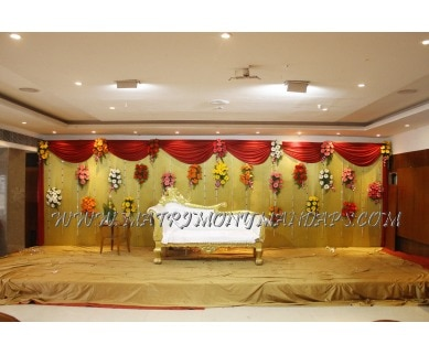 Explore Hotel Time Square Coral Banquet (A/C) in s p road, Hyderabad - Stage