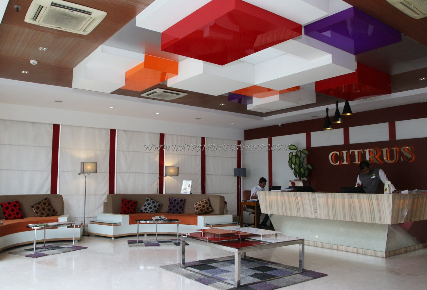 Citrus Hotel - Reception Area