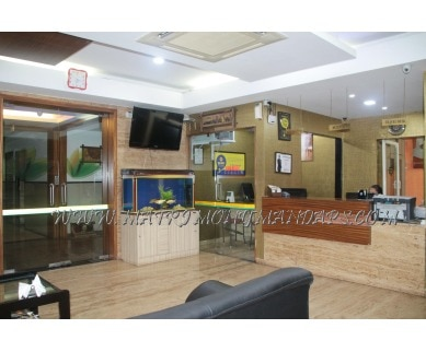 Explore City Centre Residency Regent (A/C) in Indira Nagar, Bangalore - Reception Area