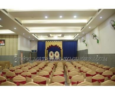 Explore Sri Nandi Residency Convention Hall (A/C) in Rajajinagar, Bangalore - Hall