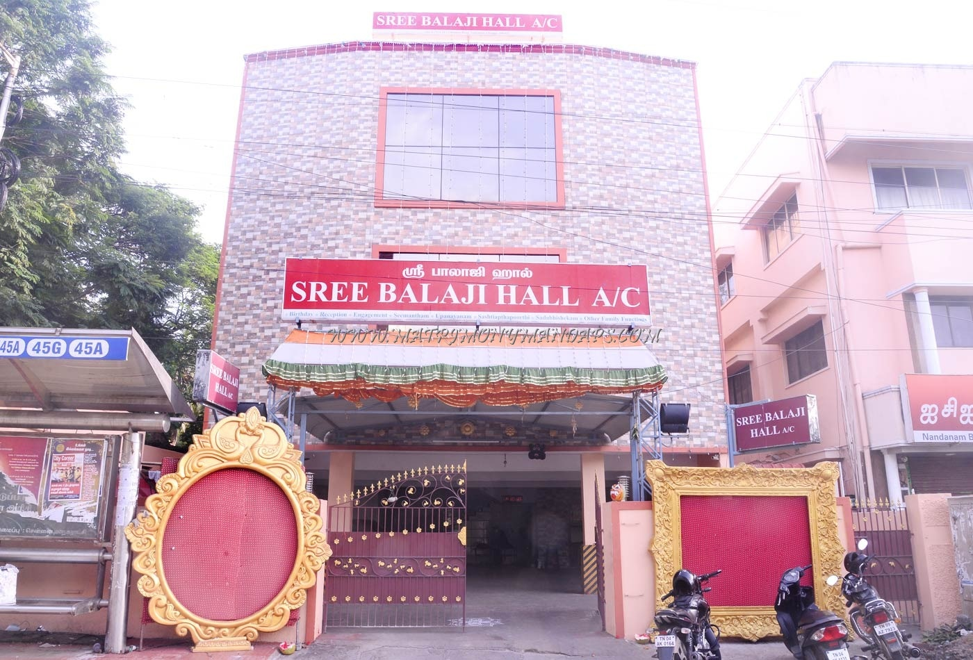 Find the availability of the Sree Balaji Hall  2 (A/C) in Nandanam, Chennai and avail special offers
