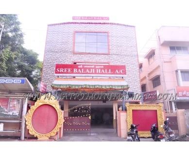 Explore Sree Balaji Hall  2 (A/C) in Nandanam, Chennai - Building View