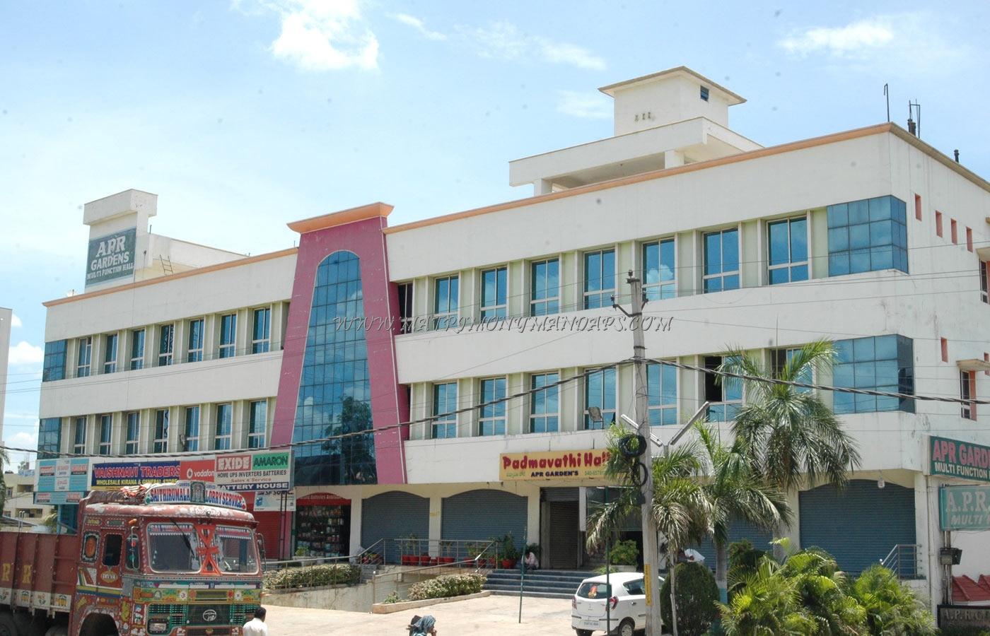 Sri Padmavathi Gardens - Building View