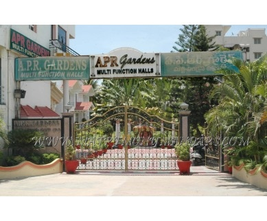 Explore APR Gardens in Champapet, Hyderabad - Entrance