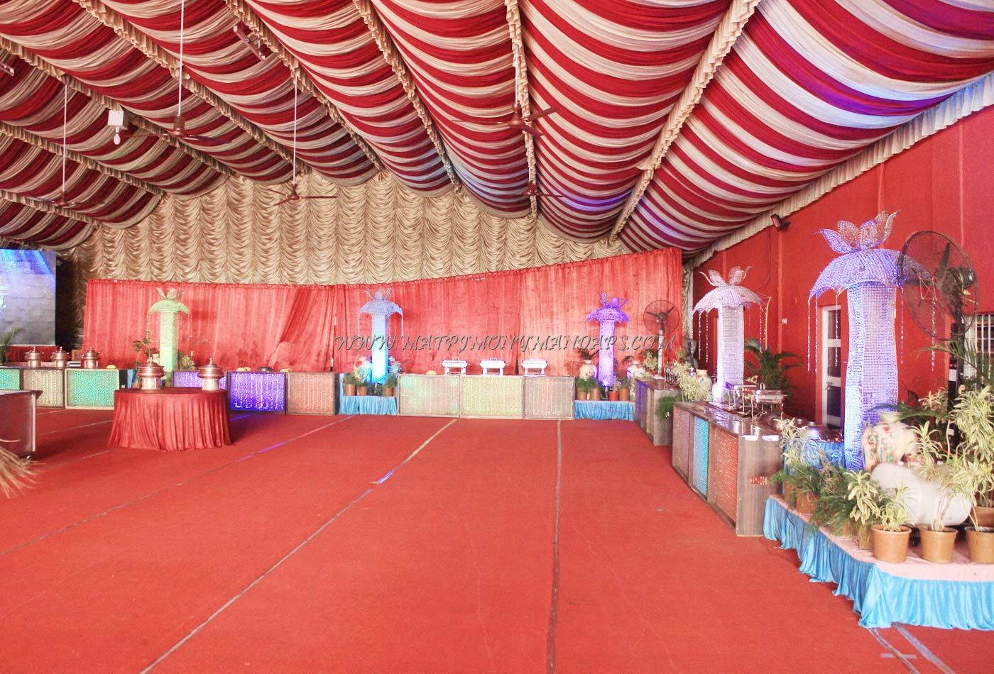 Maneesha Banquet Hall - Pre-function Area