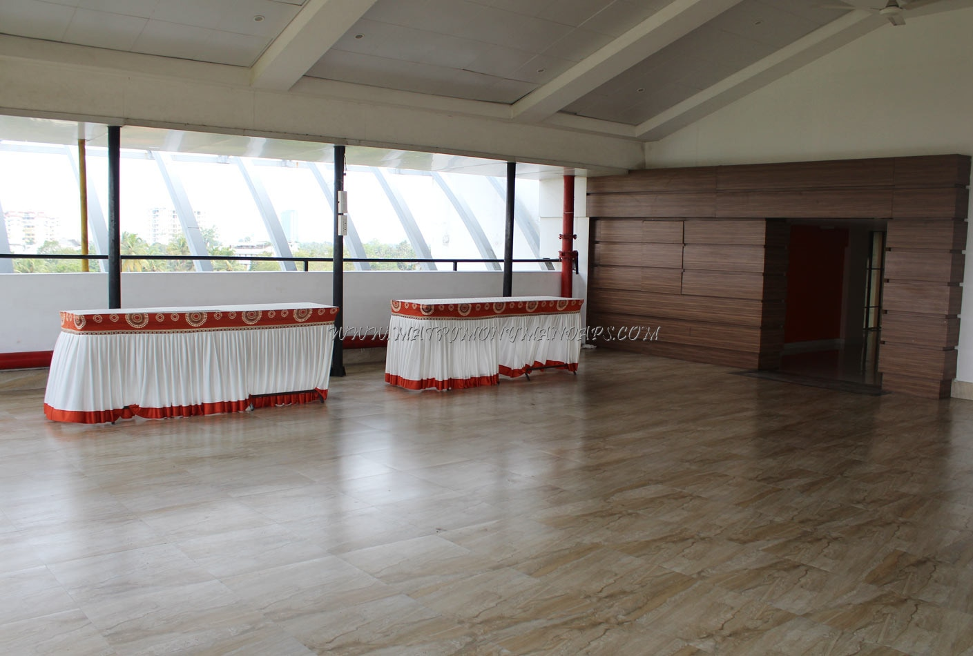 IMA Cochin - Roof Top - Pre-function Area