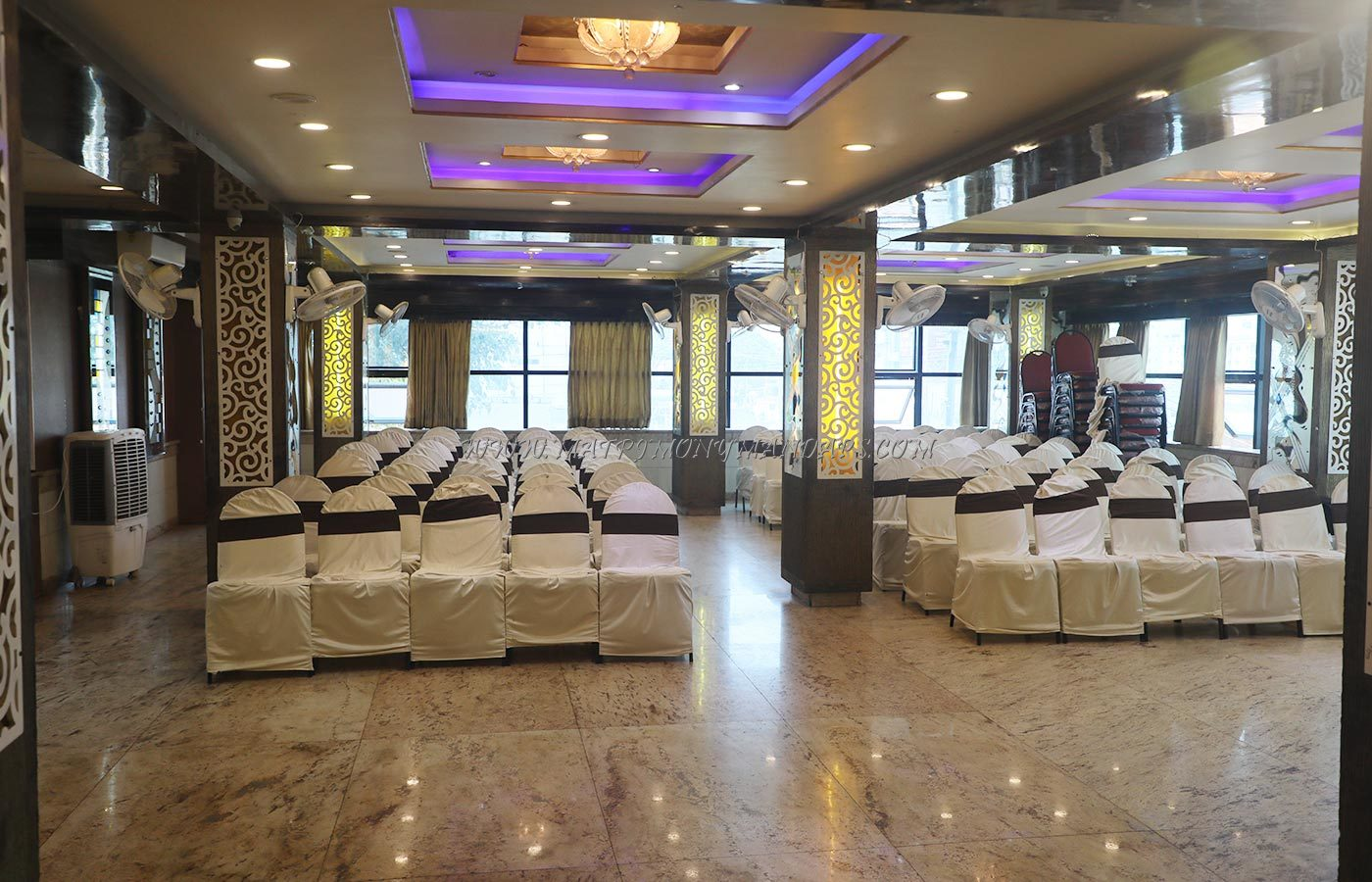 Find the availability of the New Krishnasagar Party Hall (A/C) in Ramamurthy Nagar, Bangalore and avail special offers