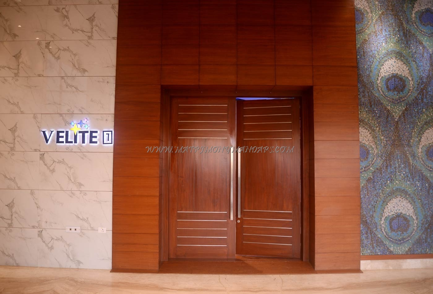 M Wedding  Convention V Elite AC - Entrance