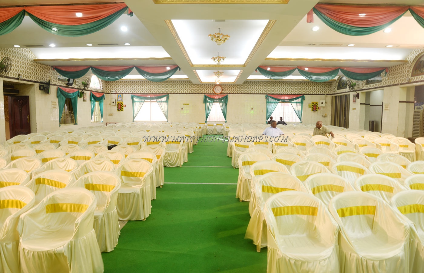 Find the availability of the Chinnaswamy Marriage Auditorium (A/C) in Mogappair, Chennai and avail special offers
