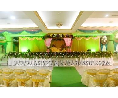 Explore Chinnaswamy Marriage Auditorium (A/C) in Mogappair, Chennai - Stage
