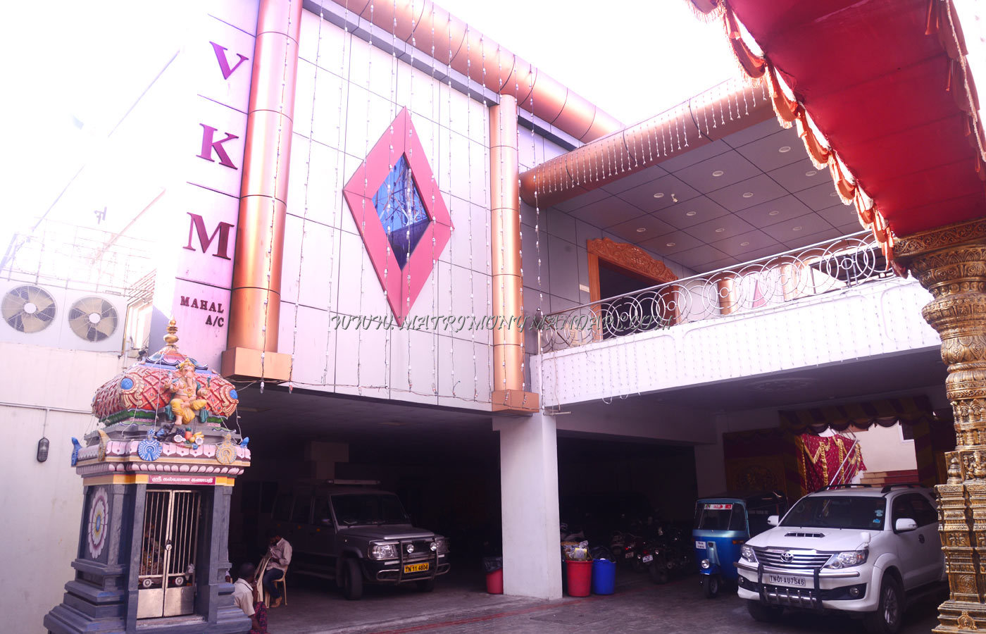 VKM Mahal - Building View