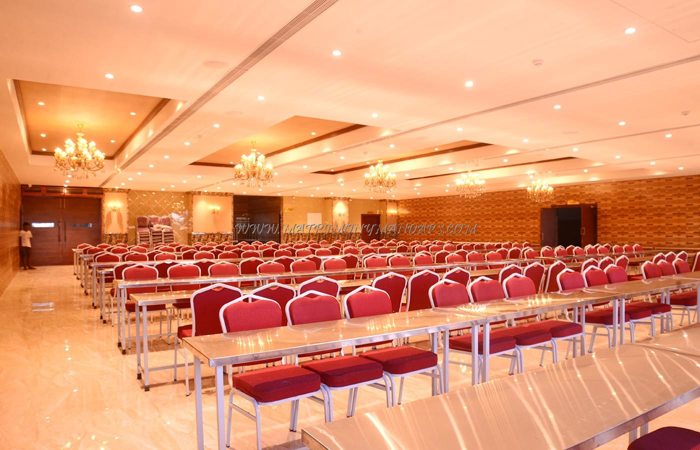 Find the availability of the PSB Conventions (A/C) in Ambattur, Chennai and avail special offers