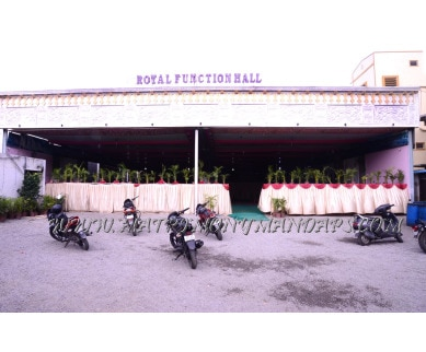 Explore Royal Function Hall in Moosapet, Hyderabad - Building View
