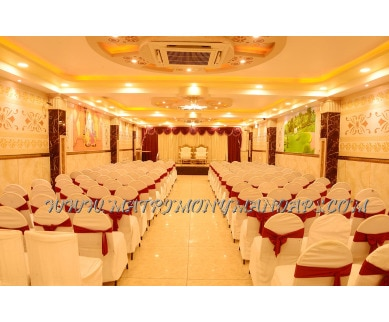 Explore Nisarga Party Hall at Basaveshwaranagar (A/C) in Basaveshwara Nagar, Bangalore - Pre-function Area