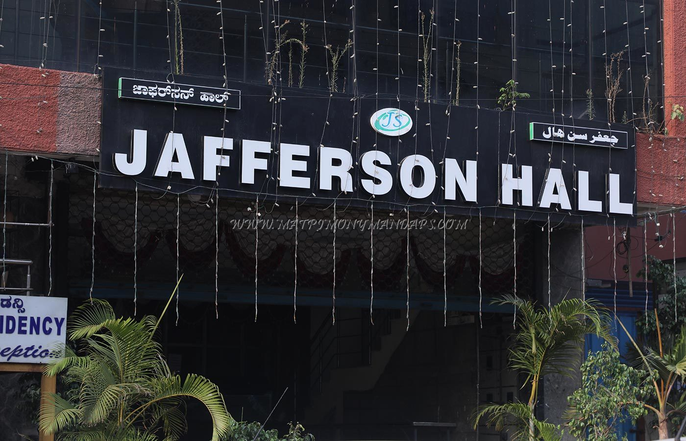 Find the availability of the Jafferson Hall 1 in Lal Bagh Road, Bangalore and avail special offers