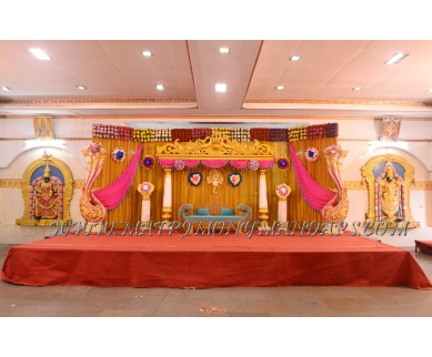 Explore RK Annai  Abirami Thirumana Mandapam (A/C) in Mangadu, Chennai - Stage