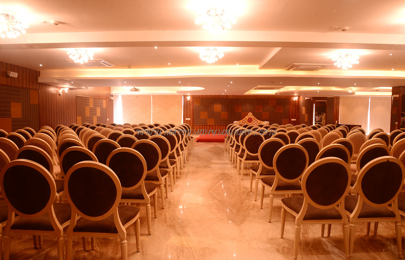 Find the availability of the JK Hotels Krishna Hall (A/C) in Saibaba Colony, Coimbatore and avail special offers