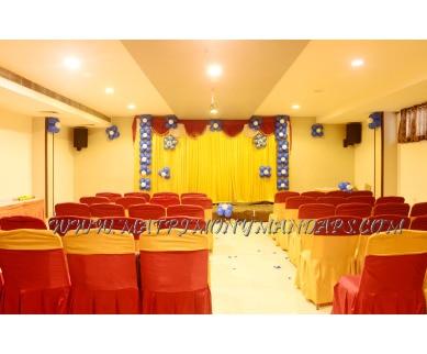 Explore Hotel SRM Grands Hasyam (A/C) in Kolathur, Chennai - Pre-function Area