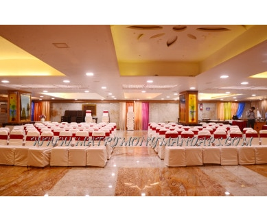 Explore The Kanchi Residency Hall 1 (A/C) in Anna Nagar, Chennai - Pre-function Area