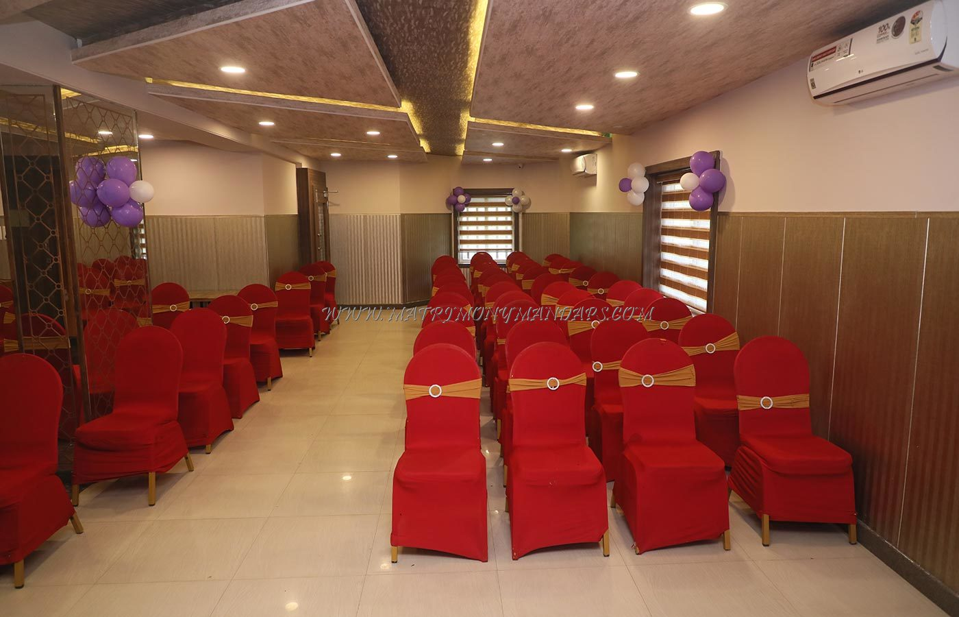 Find the availability of the Sri Udupi Party Hall (A/C) in Indira Nagar, Bangalore and avail special offers
