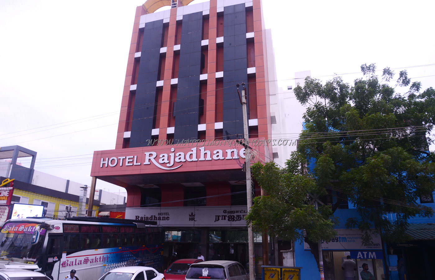Find the availability of the Hotel Rajadhane Rani Hall (A/C) in KK Nagar, Madurai and avail special offers