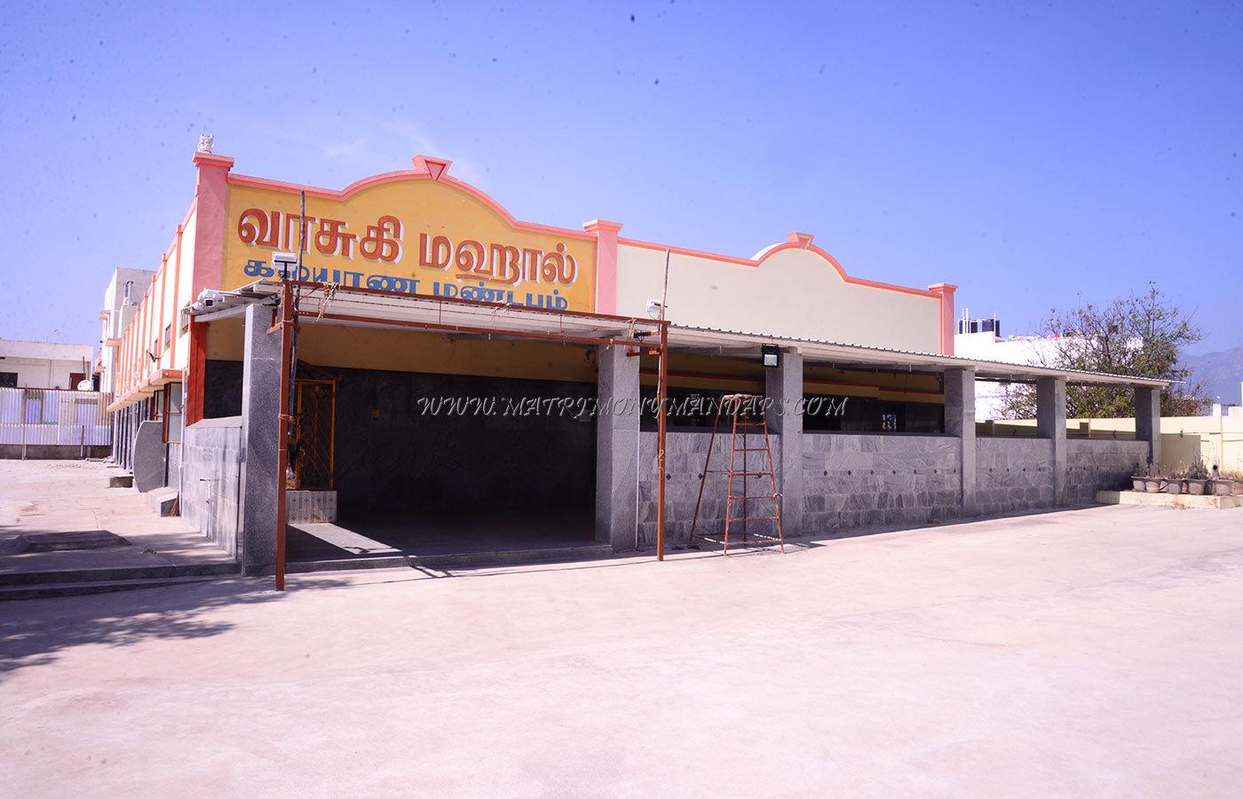 Find the availability of the Vasuki Mahal Kalyana Mandapam in Edayarpalayam, Coimbatore and avail special offers