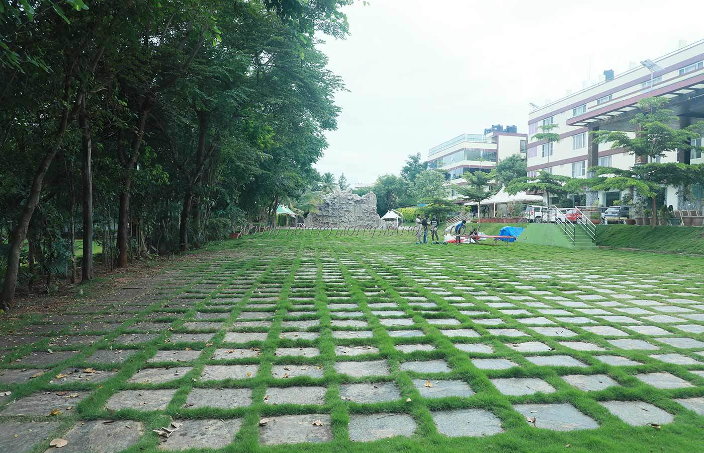 Find the availability of the The Garden Asia Resort 1st Lawn in mysore road, Bangalore and avail special offers