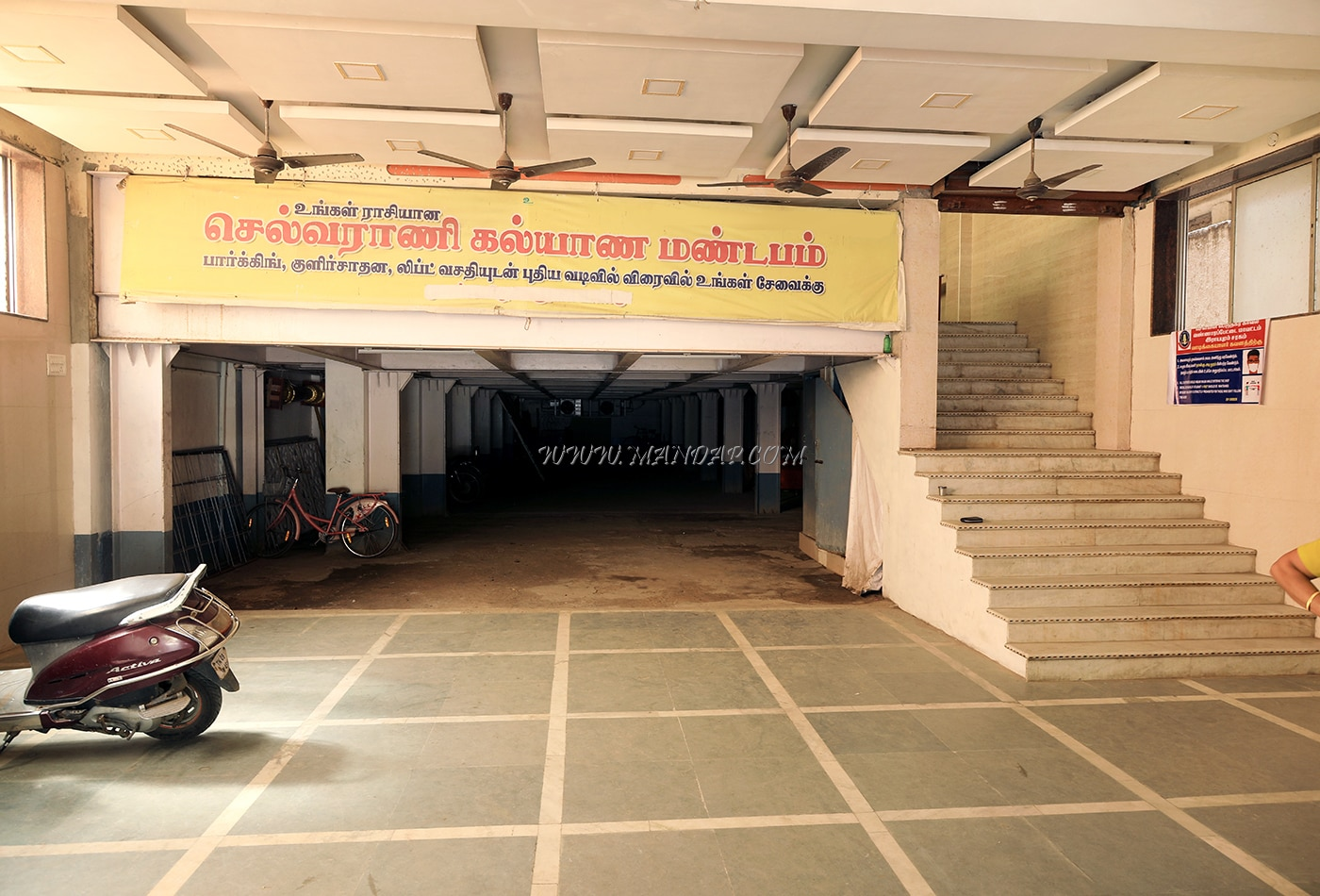 Find the availability of the Selvarani Kalyana Mandapam (A/C) in Royapuram, Chennai and avail special offers