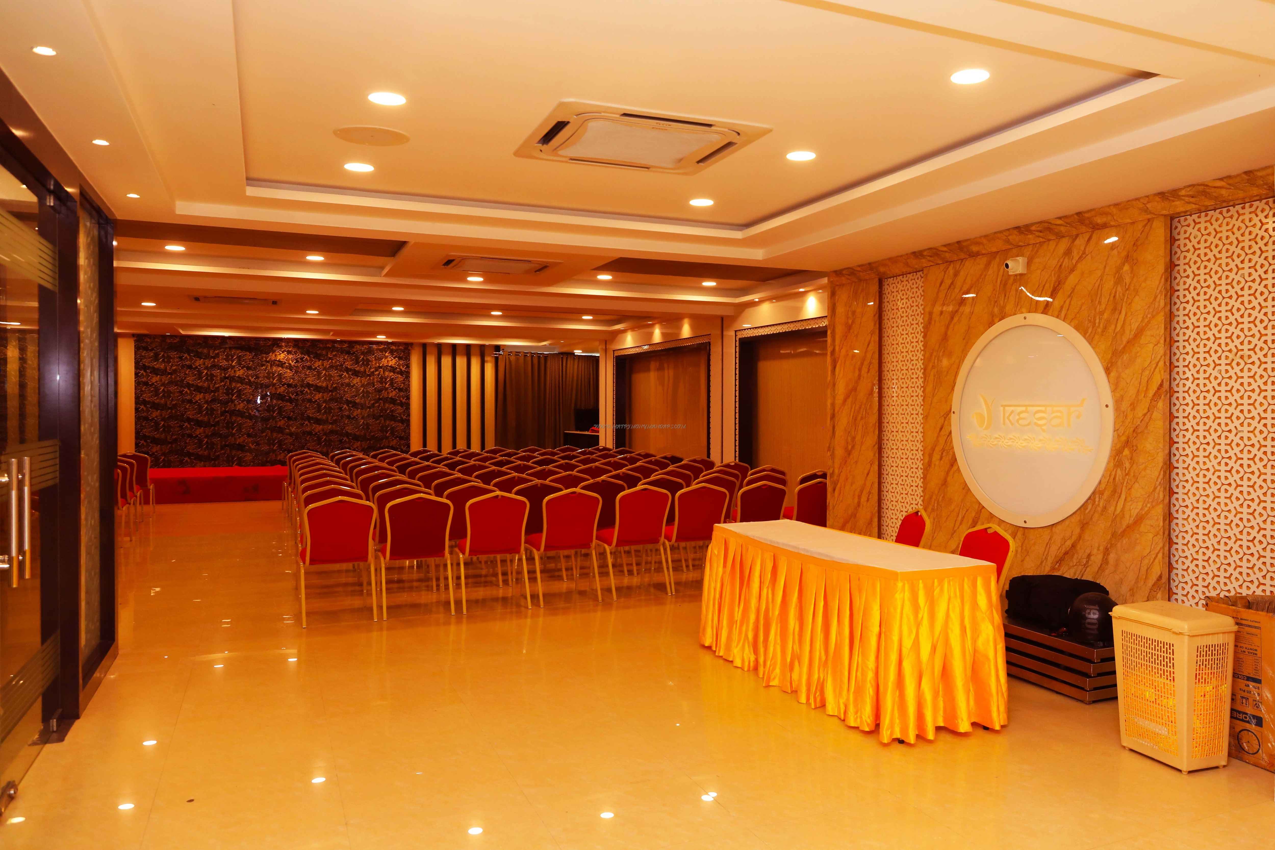 Find the availability of the Kesar Banquet Hall (A/C) in Royapettah, Chennai and avail special offers