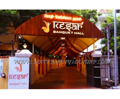 Find the availability of Kesar Banquet Hall (A/C)  in Royapettah, Chennai and avail the special offers