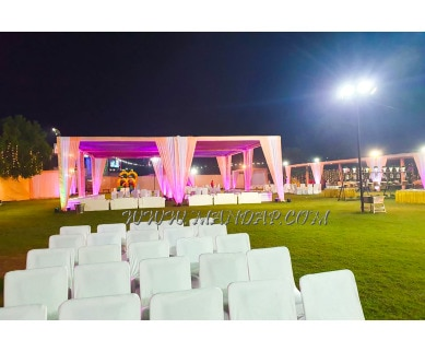 Find the availability of Muskan Hotel Party Lawn in Manesar, Gurgaon and avail the special offers