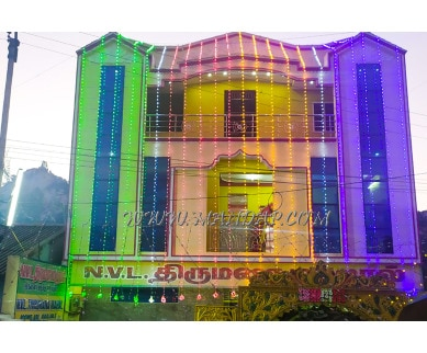 Find the availability of NVL Marriage Mahal in Vellore Institute Of Technology, Vellore and avail the special offers