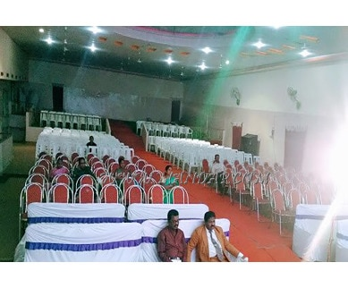 Find the availability of Sai Krishna  function hall (A/C)  in Mahabubnagar City, Mahabubnagar and avail the special offers